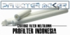 PFI Cartridge Filter Meltblown SOE 222 Fin Ujung Tombak Indonesia  medium