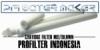 PFI Cartridge Filter Meltblown SOE 222 Fin Ujung Tombak Indonesia  medium