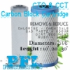 d d CTO CCT Carbon Block Filter Cartridge Briquette  medium